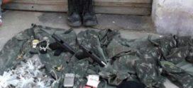 Preso no Açude seria líder de facção criminosa e tinha pistolas e granada