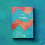 Leitura: 'Aresta' é o primeiro livro da jovem Eduarda Vaz Guimarães (Fotos: Divulgação)