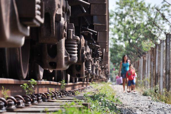 Moradores reclamam da passagem de trem pelo Centro da cidade (foto: Arquivo)