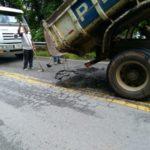 Prefeitura realizou reparos na via entre Penedo e Visconde de Mauá (foto: Divulgação)