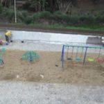 Revitalização: Área fica bem perto da passarela de entrada para o Parque Maíra, em Pinheiral (Foto: Divulgação)