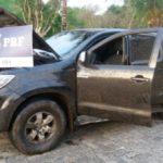 Clonada: Motorista deixou caminhonete depois de acidente na Dutra
