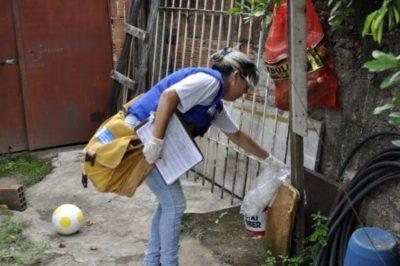 Aedes aegypti: Agentes intensificarão as ações com visita aos domicílios e eliminação dos focos - Paulo Dimas
