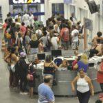 Campla: População aderiu a vacinação no Centro Administrativo Municipal Prefeito Luiz Amaral - Paulo Dimas