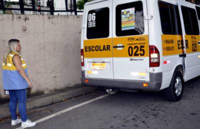 Fiscalização: Serviço será realizado até o dia 9 de fevereiro com foco na segurança dos estudantes - Secom/VR