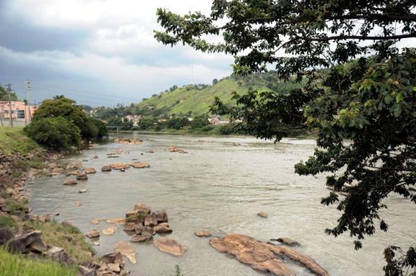Rio Paraíba do Sul: Ações são destinadas a chamarem atenção da população sobre a importância deste rio que corta três estados (Foto: Arquivo)
