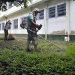 Limpeza: Unidades de ensino estão sendo preparadas para o retorno dos alunos em 5 de fevereiro - Geraldo Gonçalves – Secom/VR
