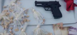 Jovem é preso com droga e arma, em Angra dos Reis