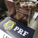 Cigarros com venda  proibida no país são apreendidos pela PRF