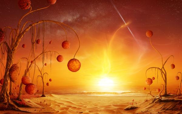 Vida: Extraterrestres podem se camuflar no ambiente. (Foto: Blackhole rising)