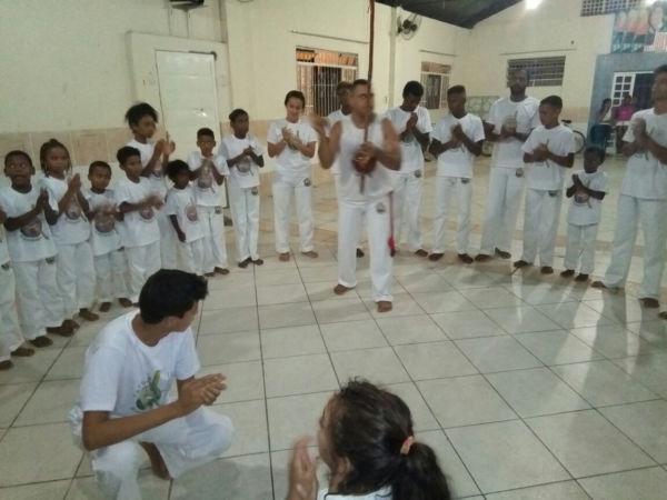 'Capoeira é História e Educa': No total, 85 alunos receberão a primeira corda (Foto: Divulgação)