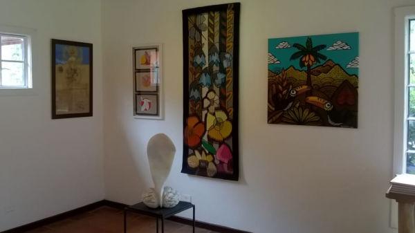 'Coletiva Itatiaia': Exposição tem curadoria de Márcia Patrocínio e Rafael Fioratto (Foto: Divulgação)