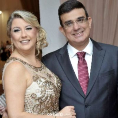 Elegantes: Os empresários José Antônio Oliveira e Priscilla Pina Siqueira Campos