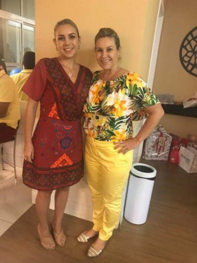 As pastoras Clauely e Claudia Gomes, em recente evento social