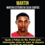 Martin é procurado pela Policia