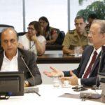 Pezão e Jungmann participaram do ato que deve garantir mais segurança ao Rio