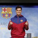 Chegando: Philippe Coutinho vai atuar ao lado de feras como Messi no novo clube