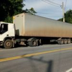 Polícia localiza dono de caminhão roubado nesta segunda-feira