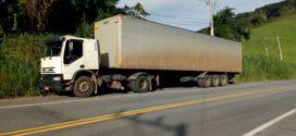 Caminhão roubado é encontrado abandonado, em Rio Claro