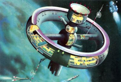 Conforto: Rotação produz gravidade artificial
