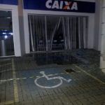 bandidos dispararam tiros e explodiram agências em Quatis