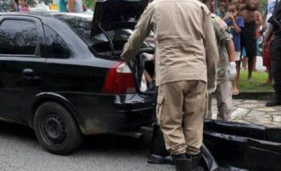Corpo de homem desaparecido é encontrado em porta-mala de carro