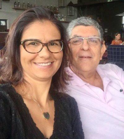O médico ortopedista Reinaldo Couri e a advogada Patrícia Carvalho