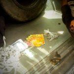 Sábado: Com as mulheres foram apreendidos 32 pinos de cocaína e 10 trouxinhas de maconha (Foto: Cedida pela PM)