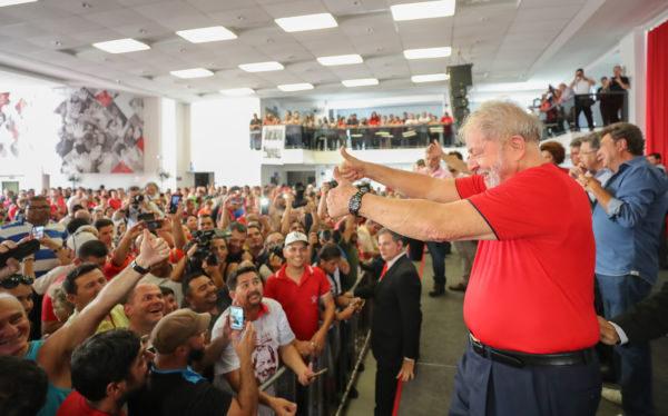 Lula se encontra com amigos do Sindicato dos Metalúrgicos do ABC (Fotos: Ricardo Stuckert)