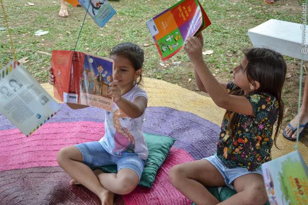 Leitura: Primeira edição será voltada para o público infantil e juvenil (Foto: Divulgação)