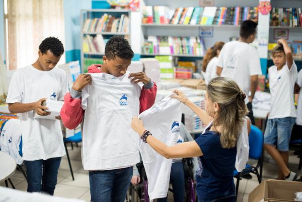 Entregue: Mais de 40 mil kits foram comprados pela Secretaria Municipal de Educação - Gabriel Borges - Secom/VR