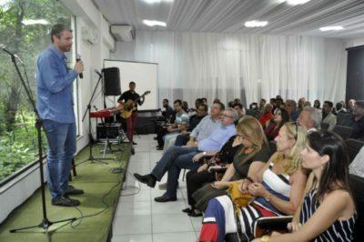 Rodrigo Drable agradece apoio de todos durante evento em Barra Mansa (foto: Paulo Dimas)