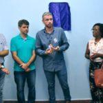 Inaugura: Rodrigo Drable fala durante entrega das novas instalações da Secretaria de Saúde (Foto: Chico de Assis – PMBM)
