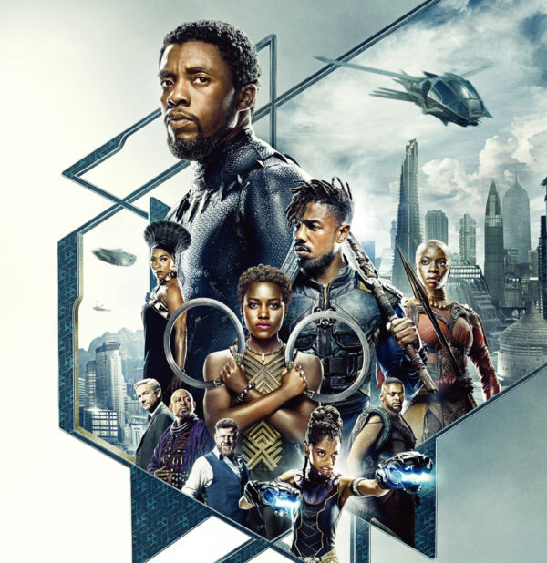Black Panther poster A3 CSFD.indd