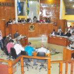 Retomada: Vereadores escolheram integrantes de comissões na primeira sessão ordinária do ano (Foto: Paulo Dimas)