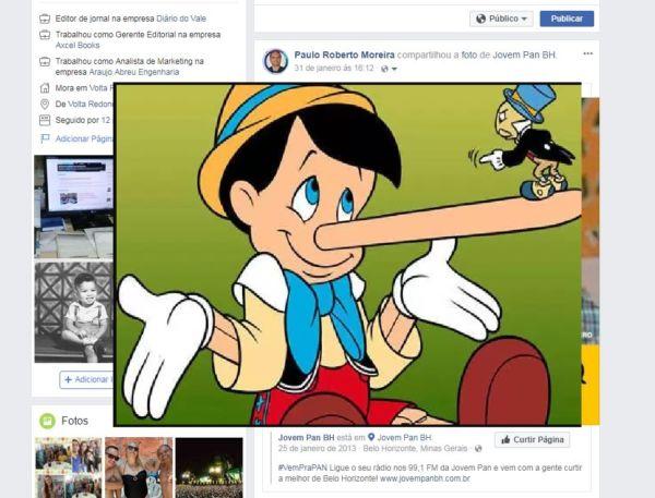 Sem desculpa: Notícias falsas que defendem ideias válidas continuam a ser mentira. (Ilustração: Reprodução)