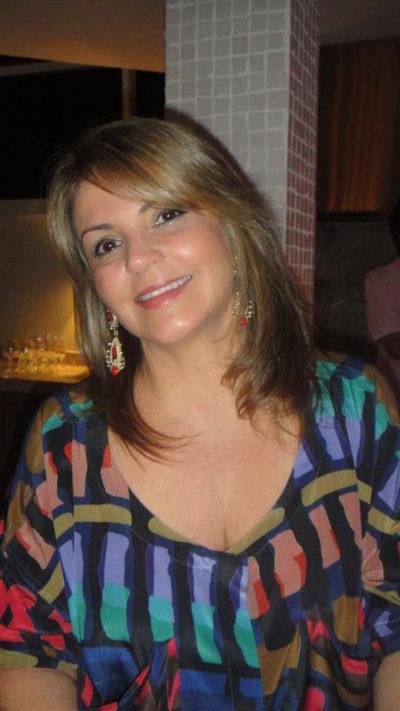 A empresária Mônica Cassila Zaidan