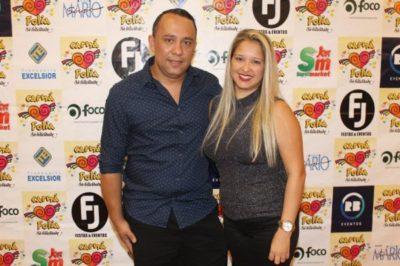 Ericson Freitas e Cristiane Alves, leia-se Ericson Luxo's Bartenders, fizeram o 'frisson' com seus maravilhosos drinks