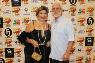 A advogada Mércia Christani e o administrador Waldir Christani