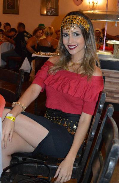 A presença encantadora da  modelo Patrícia Guido