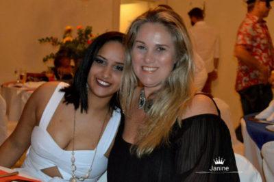 Ana Lúcia Milioni Moscon e Brenda Dias