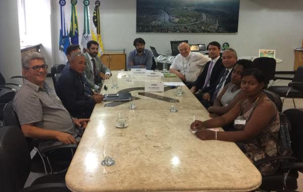 Diálogo: Reunião busca solução para impasse sobre ocupação no Belmonte (Foto: Secom-PMVR)