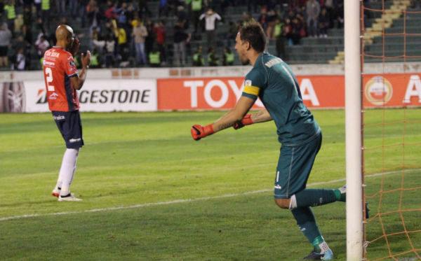 Martin Silva seguirá como um dos trunfos do Vasco na Libertadores