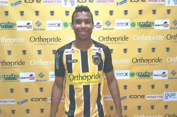 Núbio Flávio já vestiu a camisa e deve reforçar o ataque do Volta Redonda