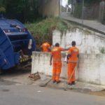 Limpeza: Vital Engenharia Ambiental já começou a realizar os serviços de coleta de lixo - Divulgação