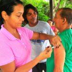 Intensificada: Após morte na Ilha Grande, campanha de vacinação foi reforçada em Angra dos Reis (Foto: Divulgação/PMAR)
