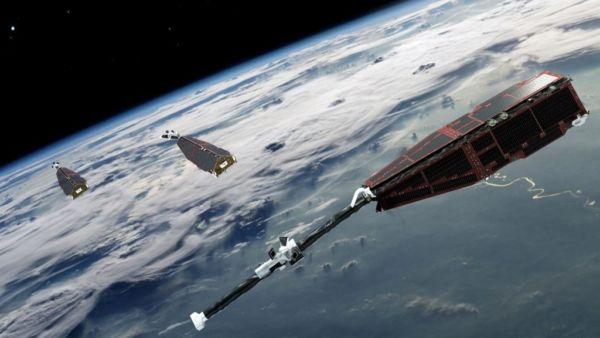 Swarm: Satélites detectaram a mudança