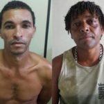 Suspeitos são presos acusados de furto e receptação (crédito PC)