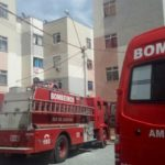 Apartamento fica destruído por causa de incêndio nesta manhã