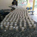 Drogas foram levadas para a Delegacia de Barra do Piraí (foto: Cedida pela PM)